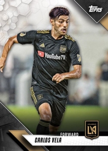 TOPPS MAJOR LEAGUE SOCCER 2019 CARTE VELA