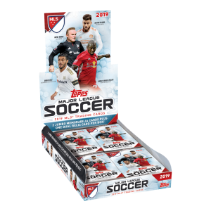 TOPPS MAJOR LEAGUE SOCCER 2019 HOBBY BOX