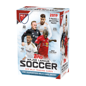 TOPPS MAJOR LEAGUE SOCCER 2019 VALUE BOX