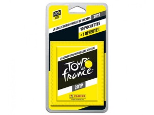PANINI TOUR DE FRANCE 2019 STICKERS BLISTER 11 POCHETTES