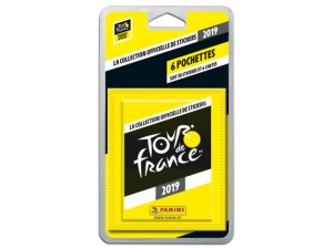 PANINI TOUR DE FRANCE 2019 STICKERS BLISTER 6 POCHETTES