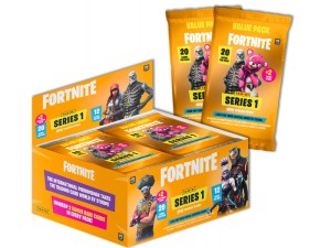 PANINI FORTNITE SERIES 1 BOITE 12 POCHETTE 22 CARTES