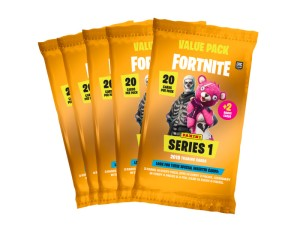 PANINI FORTNITE SERIES 1 POCHETTE 22 CARTES