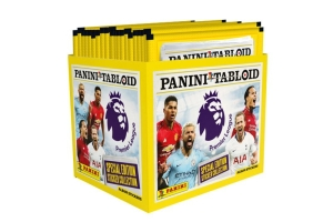 PANINI TABLOID PREMIER LEAGUE BUNDLE 50 POCHETTES