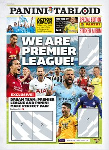 PANINI TABLOID PREMIER LEAGUE BUNDLE JOURNAL