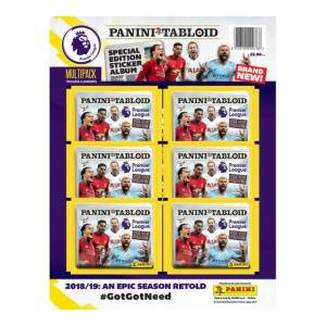 PANINI TABLOID SPECIAL EDITION MULTIPACK