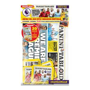 PANINI TABLOID SPECIAL EDITION STARTER PACK