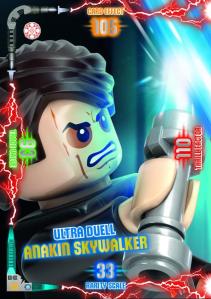 BLUE OCEAN LEGO STAR WARS SERIE 2 EXEMPLE CARTE 01