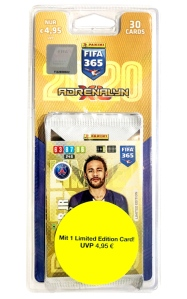 PANINI ADRENALYN XL FIFA 365 2020 BLISTER NEYMAR
