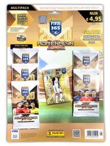 PANINI ADRENALYN XL FIFA 365 2020 MULTIPACK