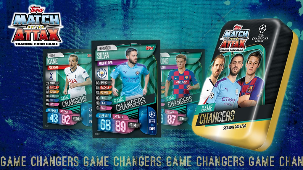 TOPPS CHAMPIONS LEAGUE 2019-20 VISUELS GAME CHANGERS