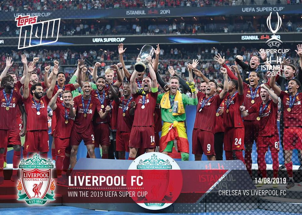 TOPPS NOW UEFA SUPERCUP ISTANBUL 2019 LIVERPOOL 01