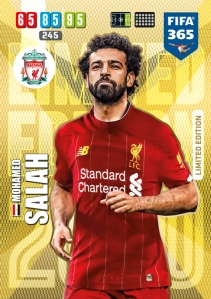 PANINI ADRENALYN XL FIFA 365 2020 LIMITED EDITION SALAH