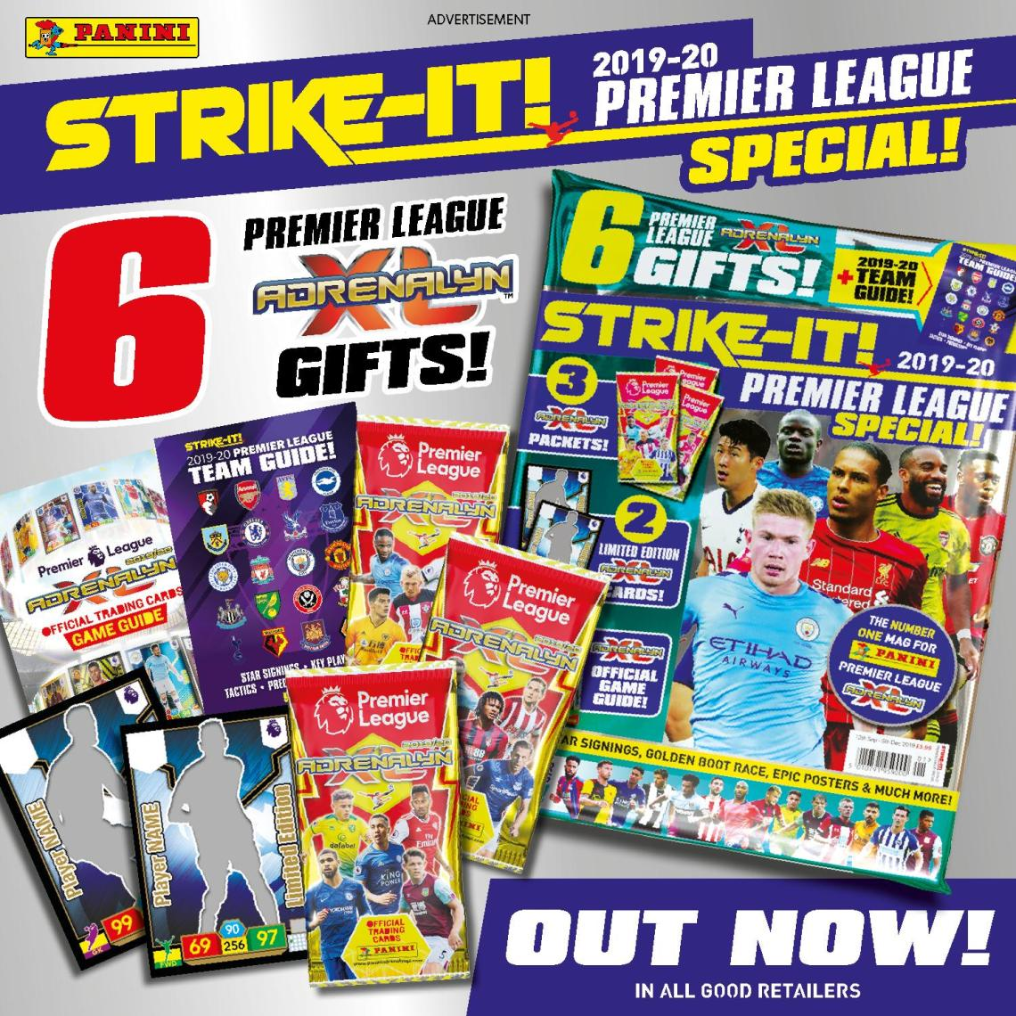 PANINI ADRENALYN XL PREMIER LEAGUE 2019-20 ANNONCE TWITTER STRIKE-IT SEPTEMBRE 2019.JPG
