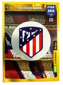 PANINI FIFA 365 ADRENALYN XL 2020 CARTE CLUB BADGE