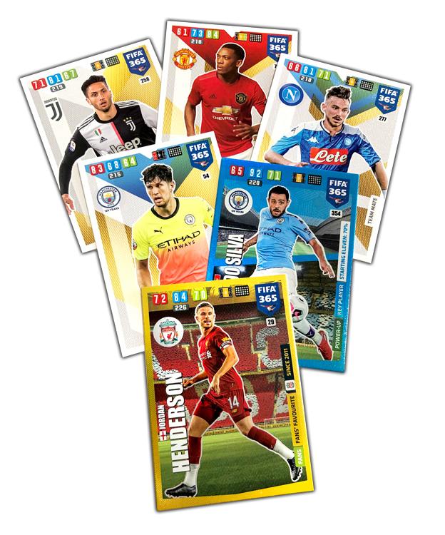 PANINI FIFA 365 ADRENALYN XL 2020 EXEMPLES DE CARTES
