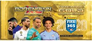 PANINI FIFA 365 ADRENALYN XL 2020 POCHETTE PREMIUM GOLD
