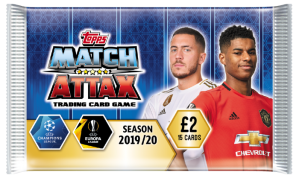 TOPPS MATCH ATTAX CHAMPIONS LEAGUE 2019-20 POCHETTE 15 CARTES 04