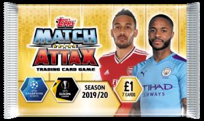 TOPPS MATCH ATTAX CHAMPIONS LEAGUE 2019-20 POCHETTE 7 CARTES 02