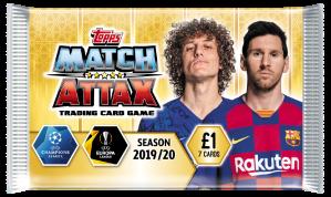 TOPPS MATCH ATTAX CHAMPIONS LEAGUE 2019-20 POCHETTE 7 CARTES 04