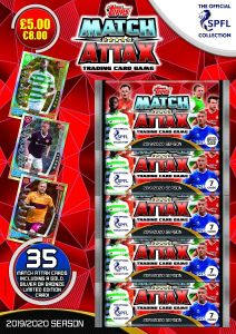 TOPPS MATCH ATTAX SPFL 2019-2020 MULTIPACK