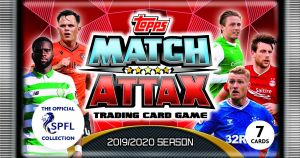 TOPPS MATCH ATTAX SPFL 2019-2020 POCHETTE 7 CARTES