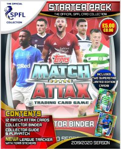 TOPPS MATCH ATTAX SPFL 2019-2020 STARTER PACK