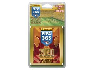 PANINI FIFA 365 STICKERS 2020 BLISTER 8 POCHETTES