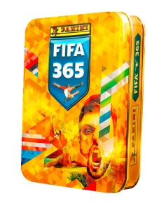 PANINI FIFA 365 STICKERS 2020 PETITE BOITE METAL MODELE 1