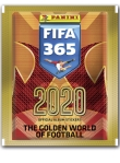 PANINI FIFA 365 STICKERS 2020 POCHETTE DE 5 STICKERS
