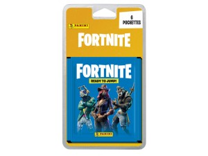 PANINI FORTNITE STICKERS BLISTER DE 6 POCHETTES
