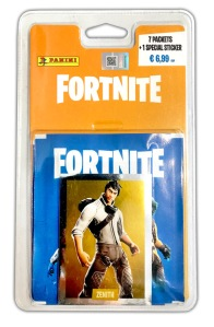 PANINI FORTNITE STICKERS BLISTER DE 7 POCHETTES