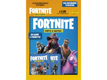 PANINI FORTNITE STICKERS PACK DE DEMARRAGE