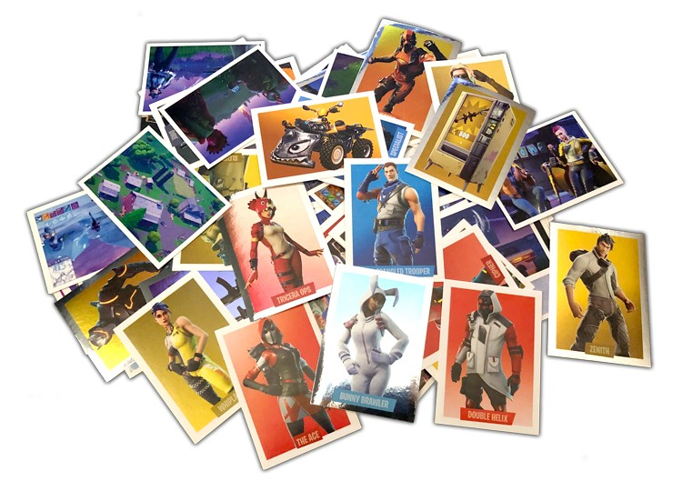 PANINI FORTNITE STICKERS VUE GENERALE