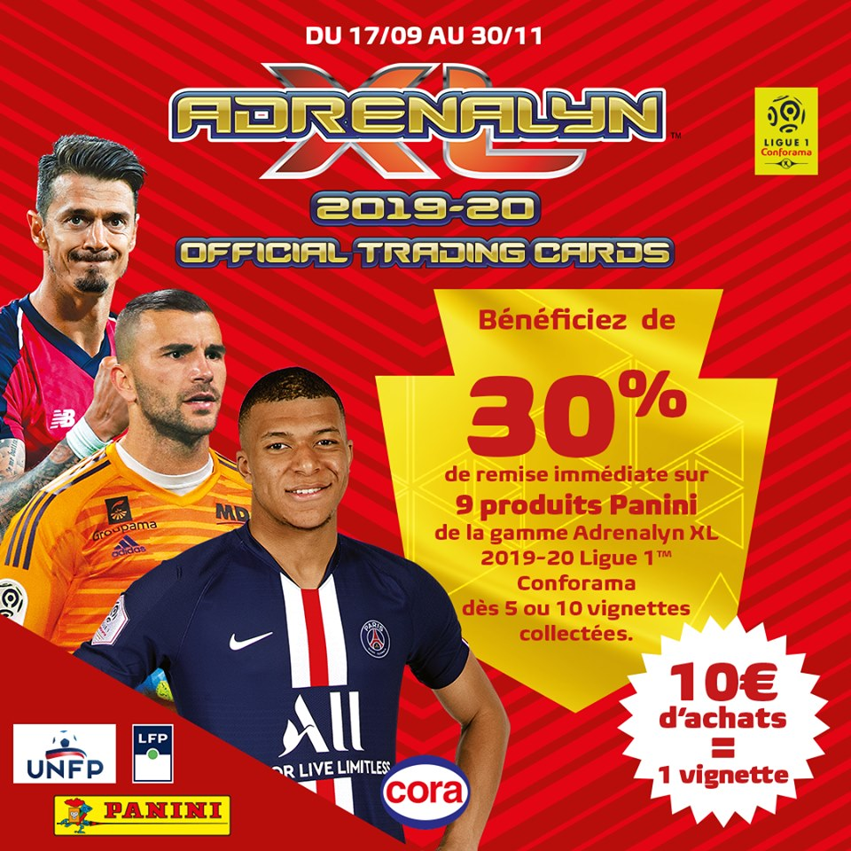 PANINI LIGUE 1 ADRENALYN XL 2019-20 ANNONCE FACEBOOK CORA 01.jpg