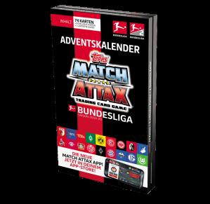 TOPPS MATCH ATTAX BUNDESLIGA 2019-20 CALENDRIER AVENT