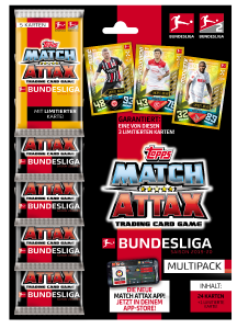 TOPPS MATCH ATTAX BUNDESLIGA 2019-20 MULTIPACK