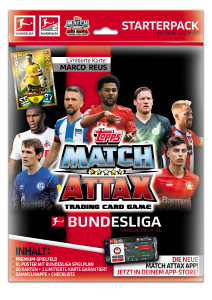 TOPPS MATCH ATTAX BUNDESLIGA 2019-20 STARTER PACK