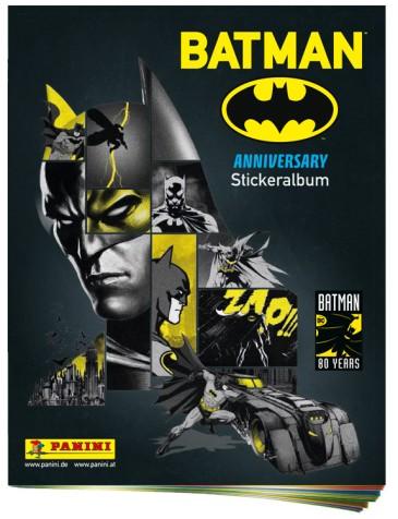 PANINI BATMAN 80 ANS ALBUM