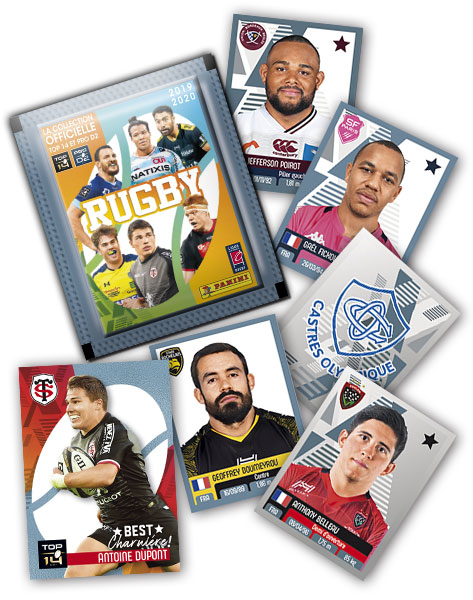 PANINI RUGBY 2019-2020 GENERAL