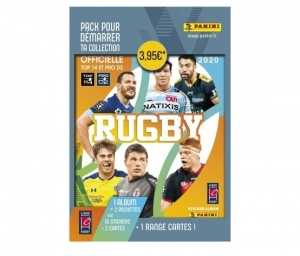PANINI RUGBY 2019-2020 STARTER PACK