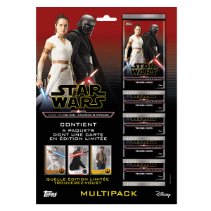 STAR WARS 9 TOPPS MULTIPACK