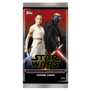 STAR WARS 9 TOPPS POCHETTE 6 CARTES
