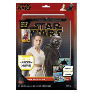 STAR WARS 9 TOPPS STARTER PACK