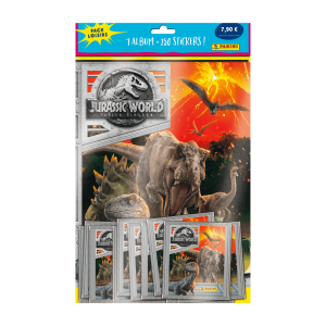 PACK LOISIRS PANINI JURASSIC WORLD 2