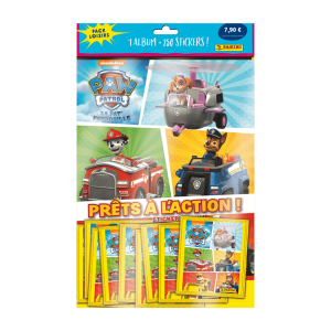 PACK LOISIRS PANINI PAT PATROUILLE ACTION