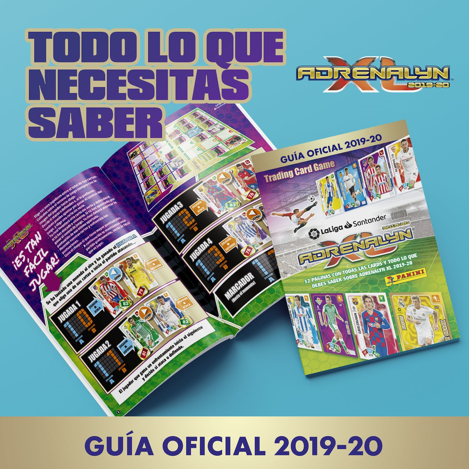 PANINI ADRENALYN XL LIGA 2019-20 ANNONCE TWITTER GUIDE