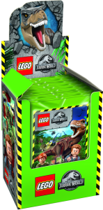 BLUE OCEAN LEGO JURASSIC WORLD STICKERS DISPLAY
