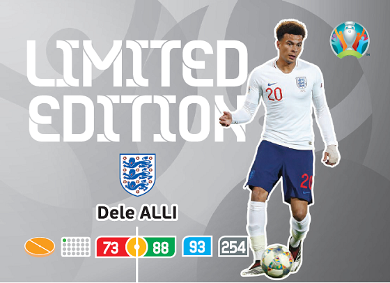 PANINI ADRENALYN XL EURO 2020 CARTE LIMITED EDITION ALLI