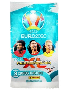 PANINI ADRENALYN XL EURO 2020 MODELE POCHETTE 01